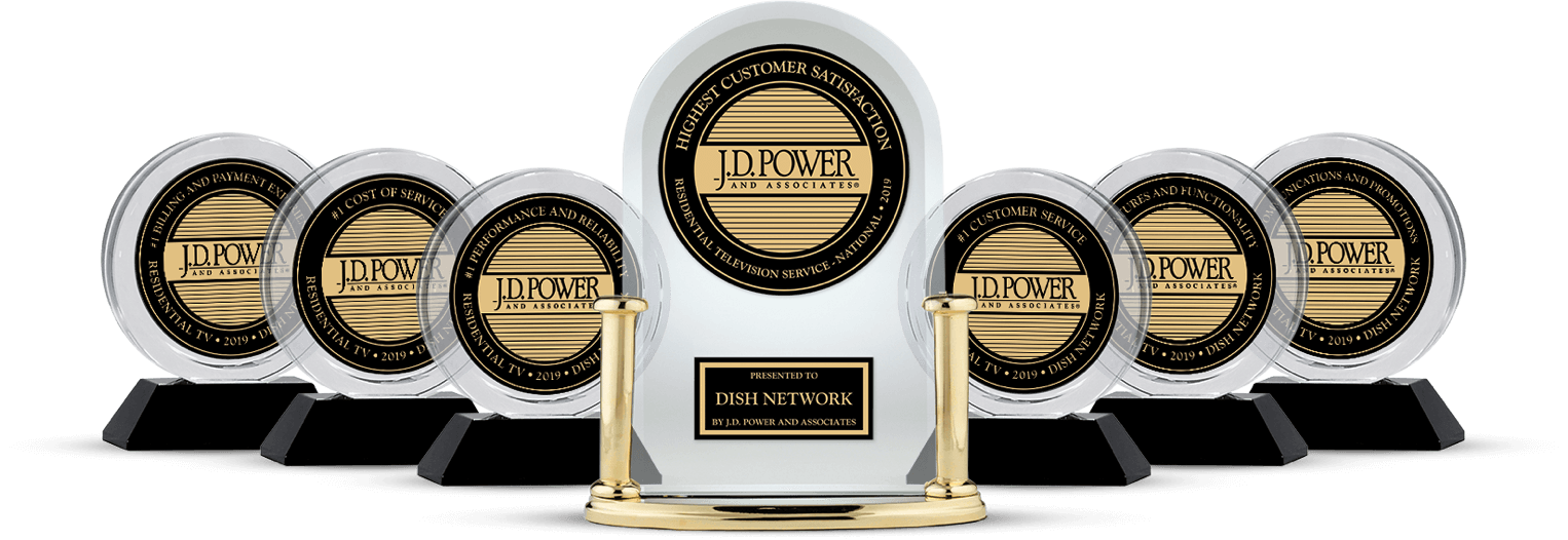DISH Customer Satisfaction - Ranked #1 by JD Power - Tim's TV & Satellite in Houghton, Iowa - DISH Authorized Retailer