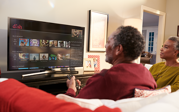 Customers 55+ Receive their first On Demand Movie Rental FREE Each Month from Tim's TV & Satellite in Houghton, Iowa