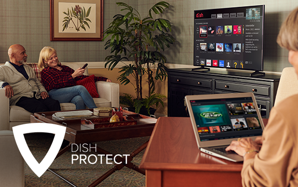 Get DISH Protect from Tim's TV & Satellite in Houghton, Iowa